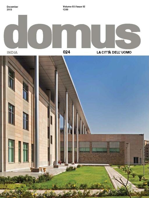Domus India (December 2013)