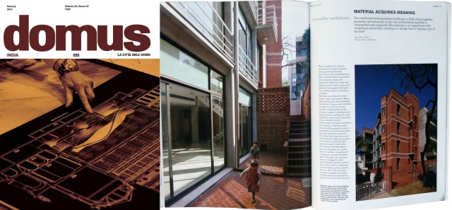 Domus India (January 2014)