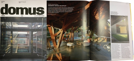 Domus India (June-July 2014)